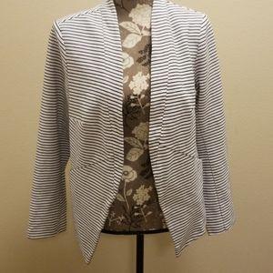 AVA VIV Striped Blazer